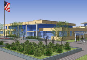 The main design goal of the new Utah state prison in Salt Lake City is to focus on rehabilitation, normalizing day-to-day life for inmates. Photo Credit: Conceptual Rendering by Prison Relocation Commission