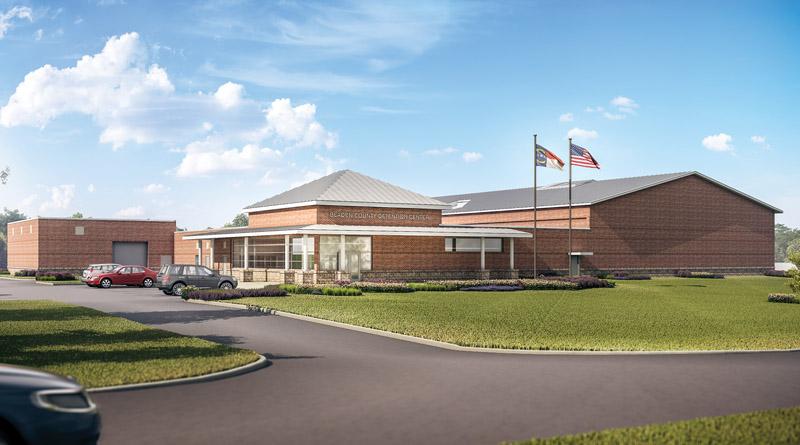 Bladen County Law Enforcement Center Celebrates Completion