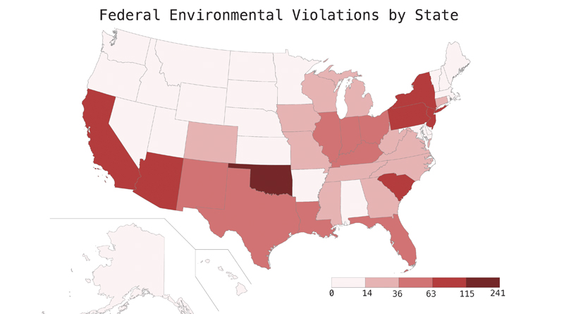 EPA Adds Environmental Justice Map Focused on Prisons