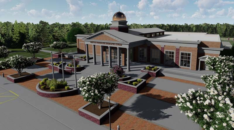 Work Continues on New Texas Courthouse