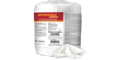 Pre-Saturated Cleaning Wipes