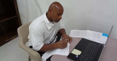 Mississippi Inmate Presents Academic Paper Virtually