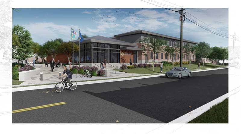 Dewberry Designs New Police Station in Virginia