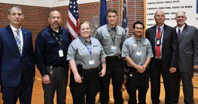 New Class of NDCS Recruits Includes College Program Graduates