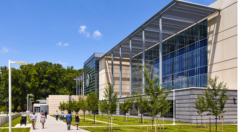 Howard County Welcomes Spacious LEED Gold Courthouse